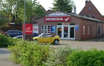 Honda Jensen - Eine Außenansicht